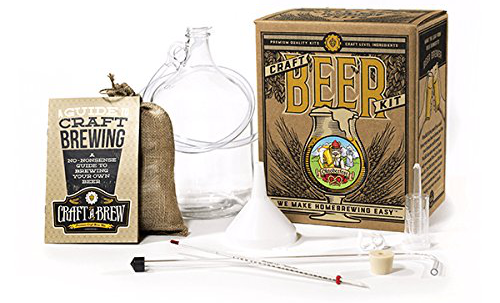 Home Brewing Kit for Beer by Craft A Brew Best beer brewing kits