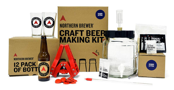 Northern Brewer - All-Inclusive Gift Set - best beer brewing kit