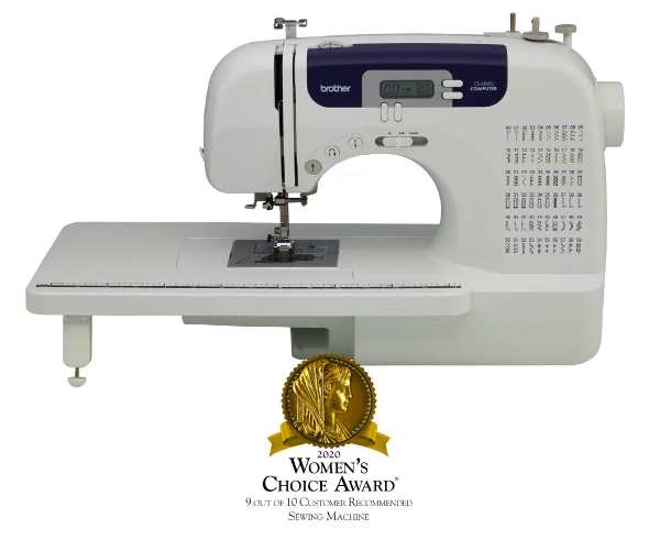 Brother cs6000i - best sewing machine under $200