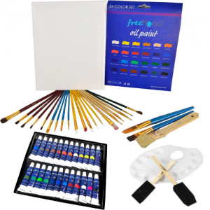 XXL Oil Paint Set by Free Hand - best oil paint set