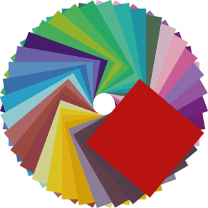 Origami Paper Double Sided Color - 200 Sheets - 20 Colors - 6 Inch - best origami paper