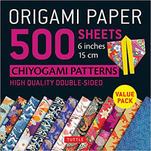 Origami Paper 500 sheets Chiyogami Patterns 6-inch 15cm by Tuttle Publishing