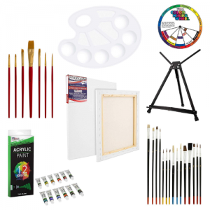 U.S. Art Supply 39-Piece Acrylic Artist Painting Set - best acrylic paint set
